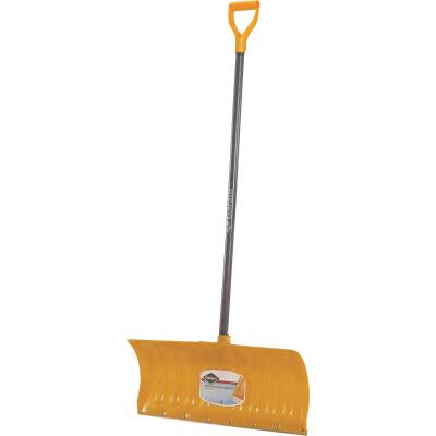 Garant Alpine 26 In. Poly Snow Pusher with 46.25 In. Wood Handle