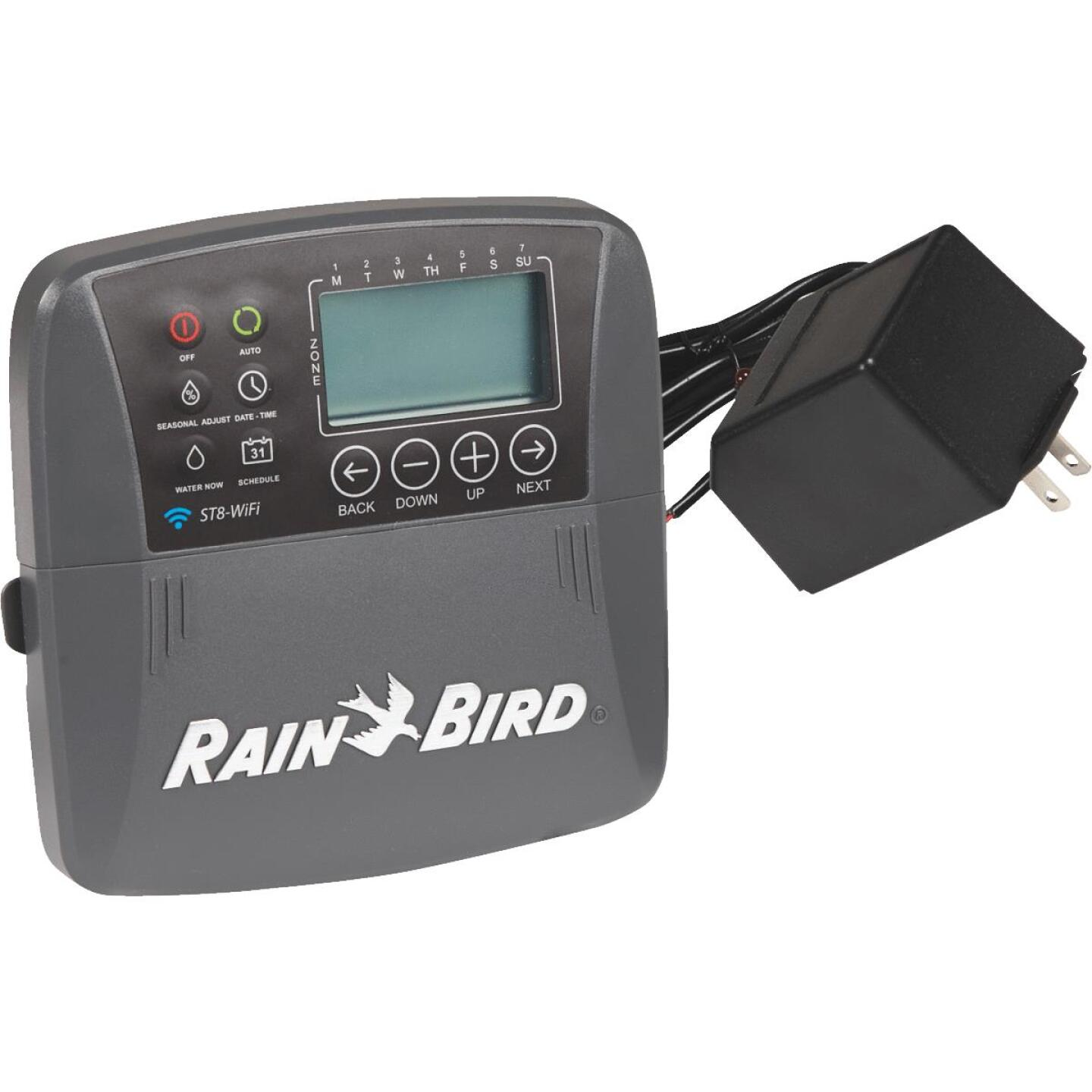 Rain Bird Smart Wi-Fi 8-Station Indoor Plug-In Water Timer Image 1