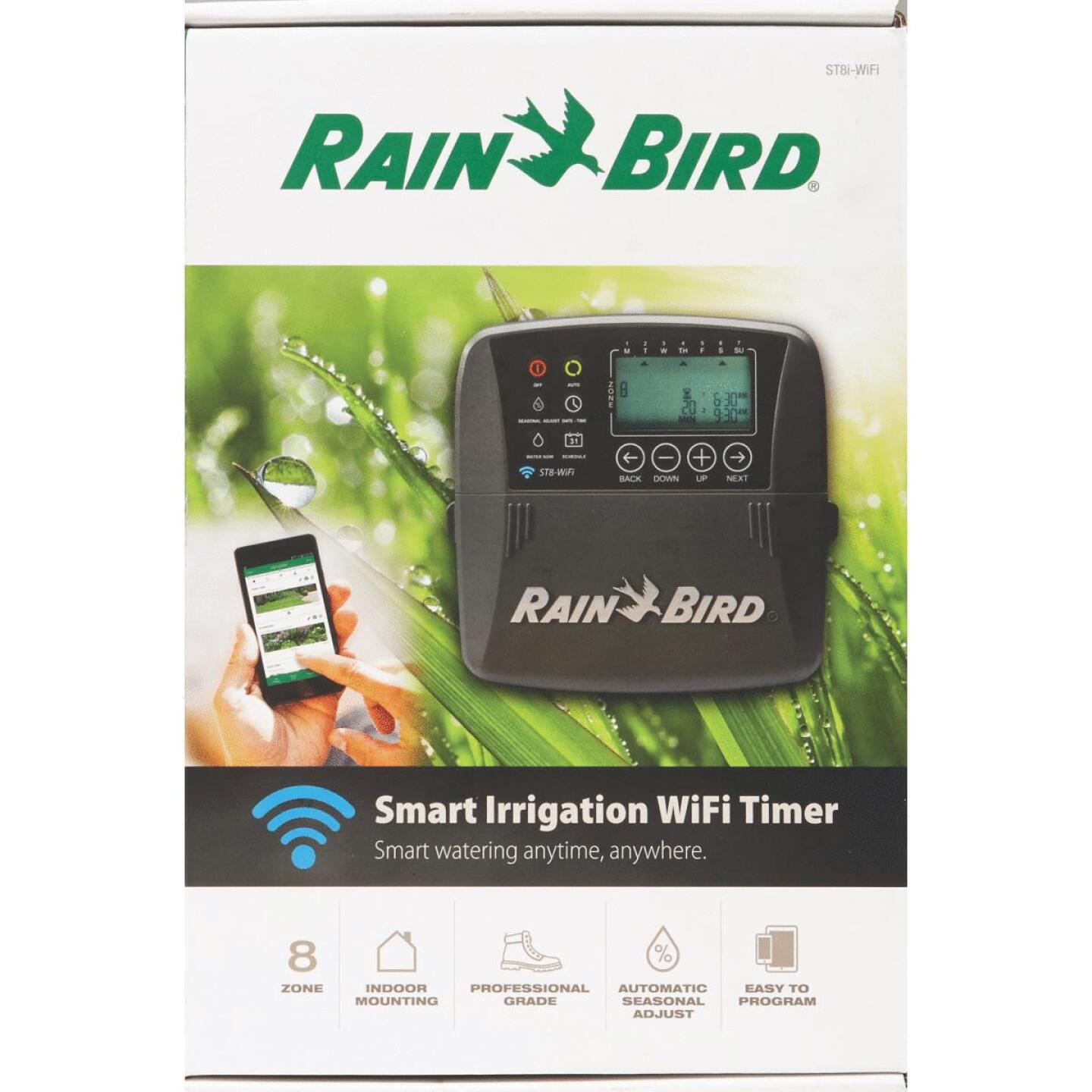 Rain Bird Smart Wi-Fi 8-Station Indoor Plug-In Water Timer Image 4