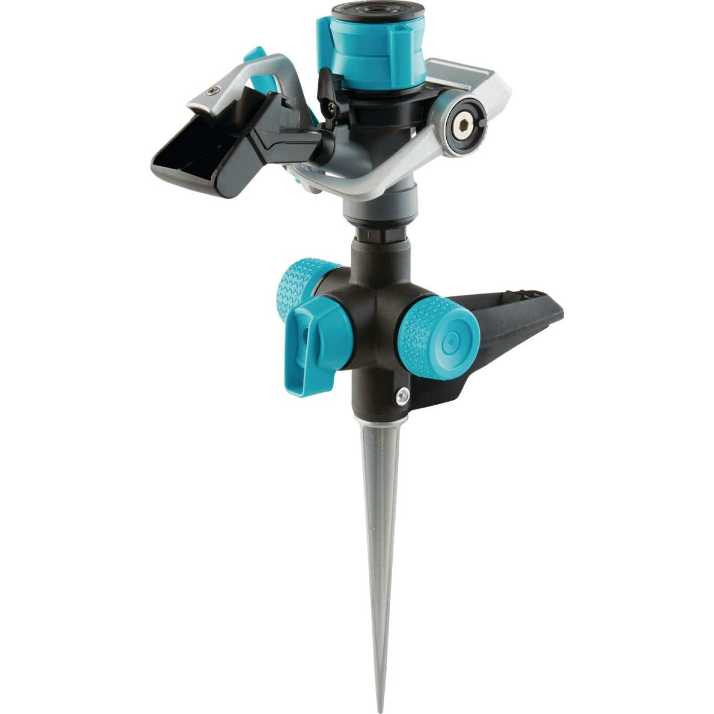 Gilmour Plastic Impact Sprinkler with On/Off Spike Image 1