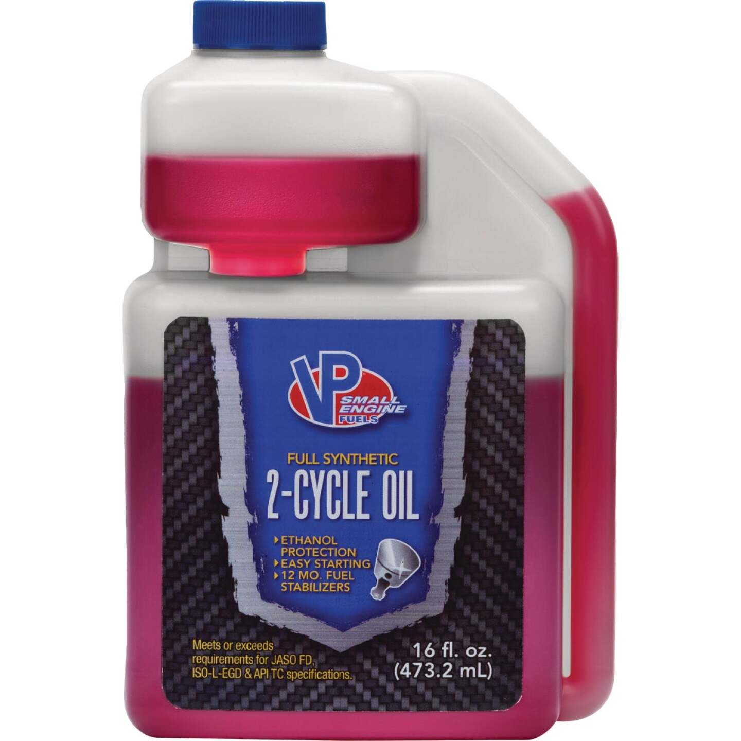 VP Racing 16 Oz. 2-Cycle Oil Fuel Image 1