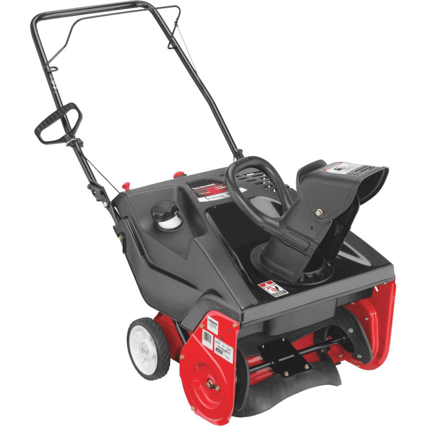 Troy-Bilt Squall 123R 21 In. 123cc Single-Stage Gas Snow Blower Image 1