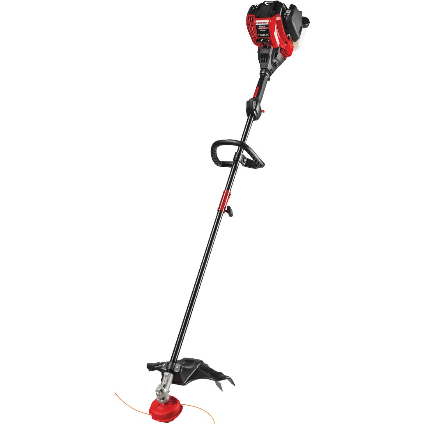 Troy-Bilt TB304S 30cc 4-Cycle 17 In. Straight Shaft Gas Trimmer Image 1