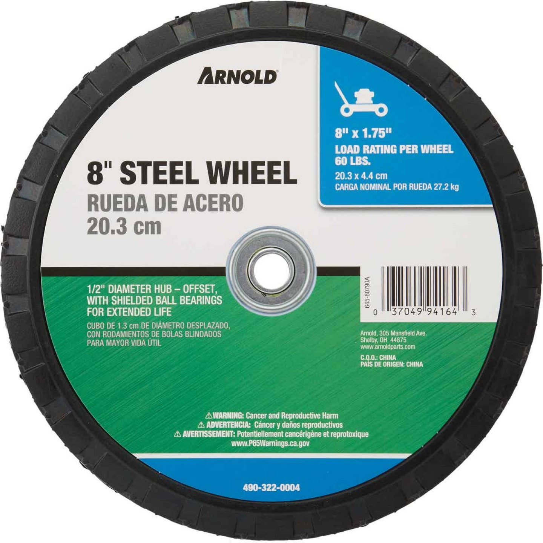 Arnold 8x1.75 Offset Hub Wheel Image 2