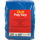 Do it Blue Woven 20 Ft. x 60 Ft. Medium Duty Poly Tarp Image 1