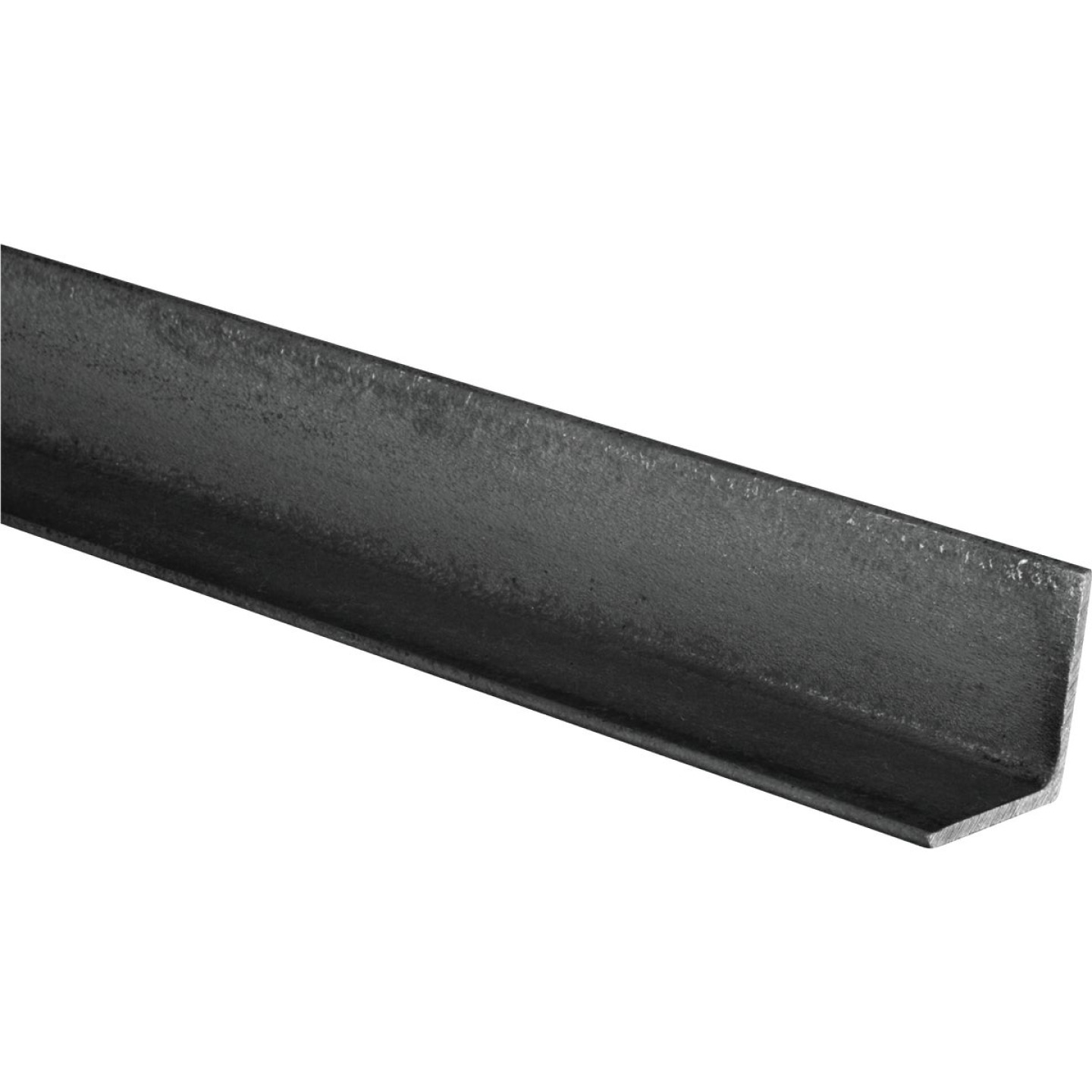 HILLMAN Steelworks Plain 1 In. x 4 Ft., 1/8 In. Weldable Solid Angle Image 1