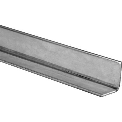 HILLMAN Steelworks Galvanized 3/4 In. x 3/4 Ft. Solid Angle