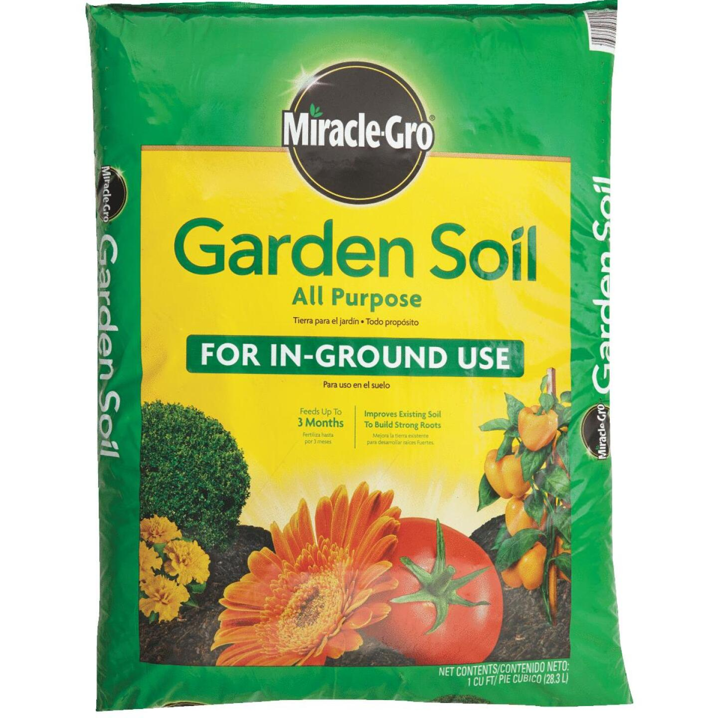 Miracle-Gro 1 Cu. Ft. All Purpose Garden Soil Image 2