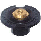 Champion Quarter Circle 1/2 In. FPT Deluxe Plastic Flush Head Sprinkler with Brass Nozzle Image 1