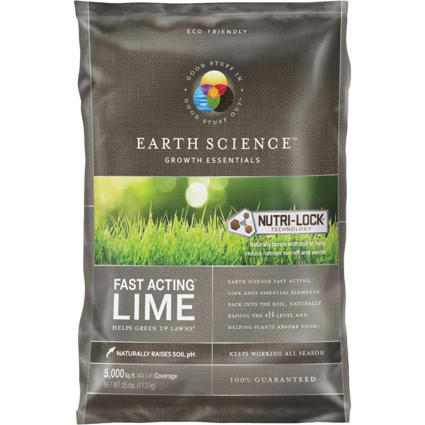 Earth Science Fast Acting Lime, 25 Lb. Image 1