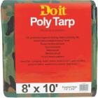 Do it Camo Woven 8 Ft. x 10 Ft. Medium Duty Poly Tarp Image 1