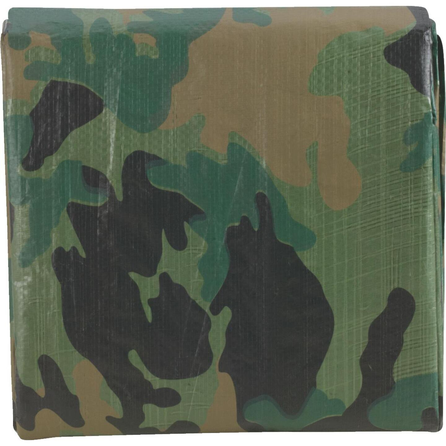 Do it Camo Woven 8 Ft. x 10 Ft. Medium Duty Poly Tarp Image 2