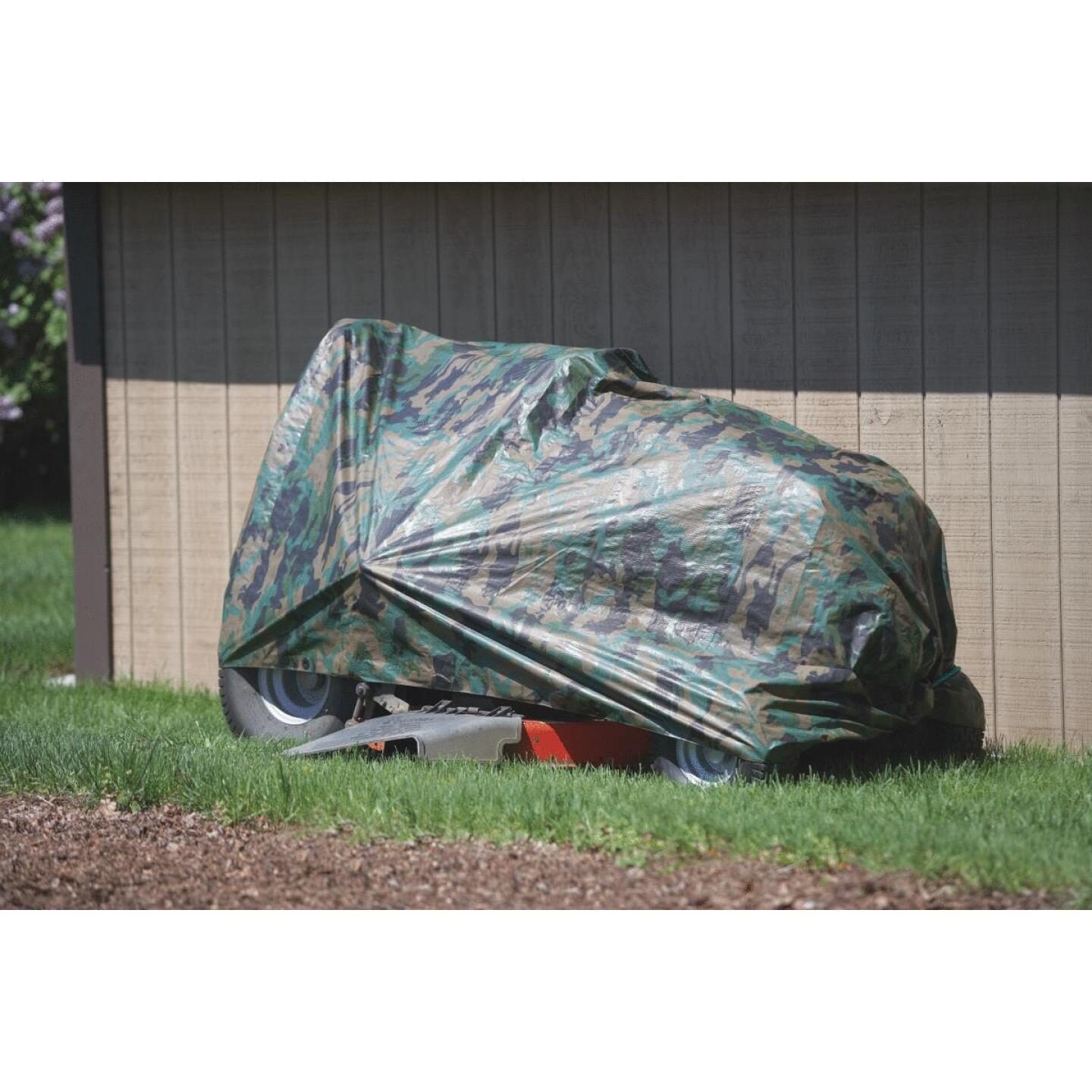 Do it Camo Woven 8 Ft. x 10 Ft. Medium Duty Poly Tarp Image 5