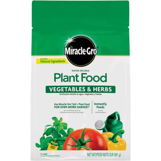 Miracle-Gro 2 Lb. 18-18-21 Vegetable & Herb Dry Plant Food