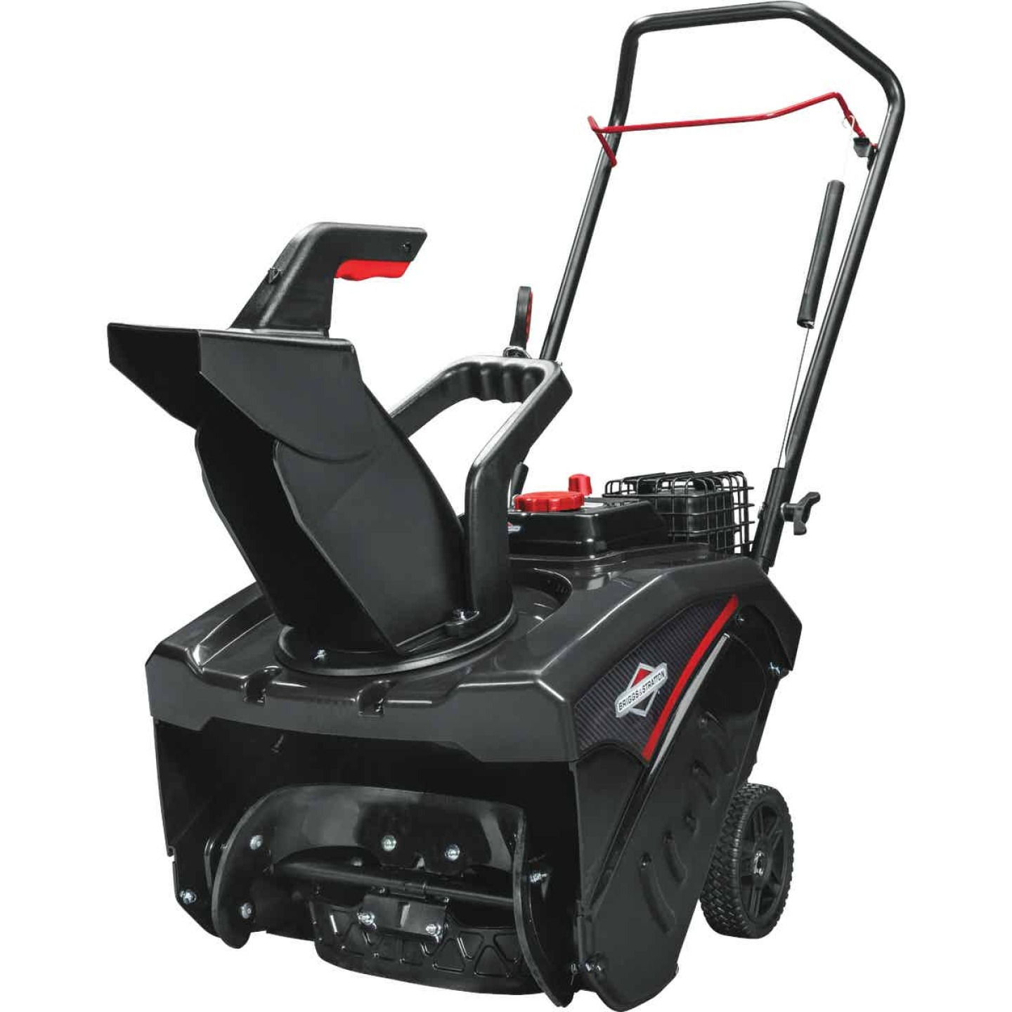 Briggs & Stratton 18 In. 127cc Single Stage 5.5 TP Manual Rotation Gas Snow Blower Image 2