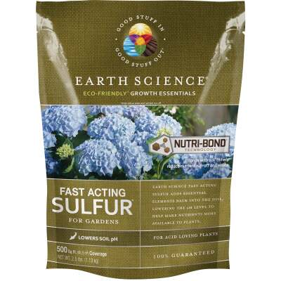 Earth Science 2.5 Lb. 500 Sq. Ft. Coverage Fast Acting Sulfur