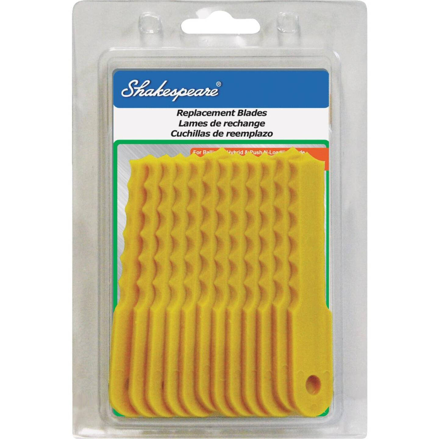 Shakespeare Push-N-Load Replacement Trimmer Blade (12-Count) Image 1