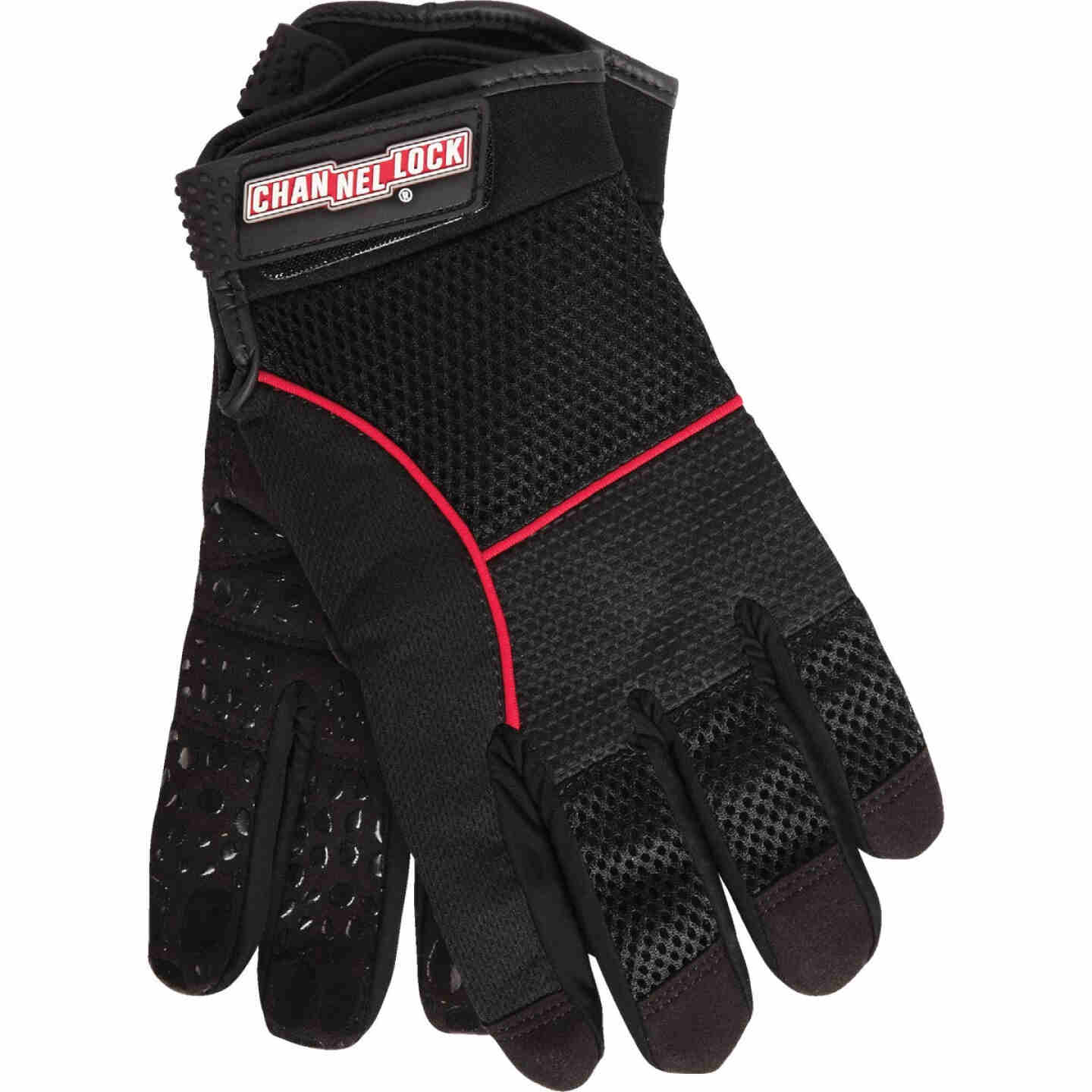 Channellock Men's Medium Synthetic Leather Utility Grip High Performance Glove Image 1