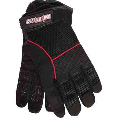 Channellock Men's XL Synthetic Leather Utility Grip High Performance Glove