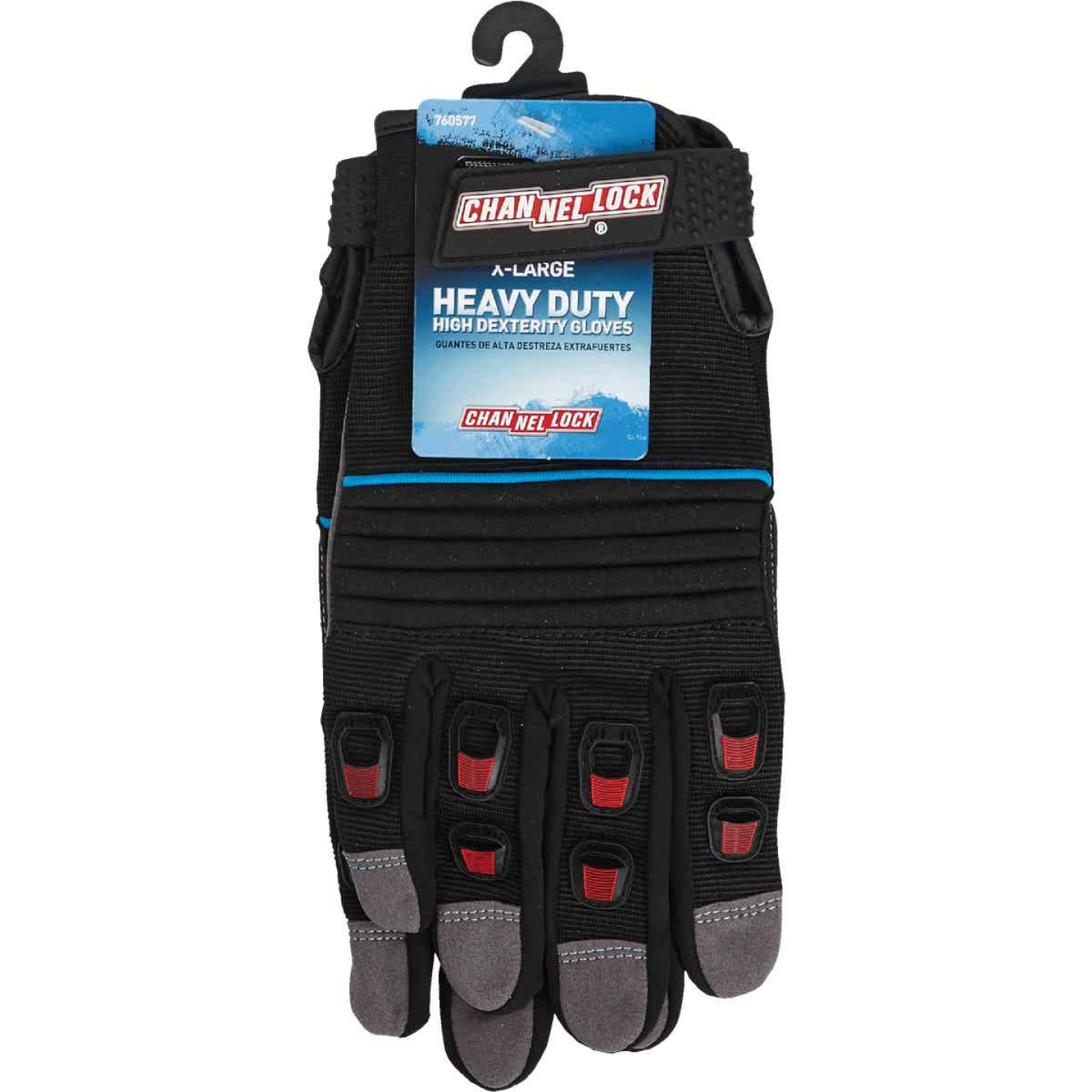 Channellock Men's XL Synthetic Leather Heavy-Duty High Performance Glove Image 2
