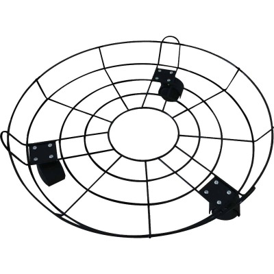 Best Garden 16 In. Coated Metal Wire Rolling Plant Caddy