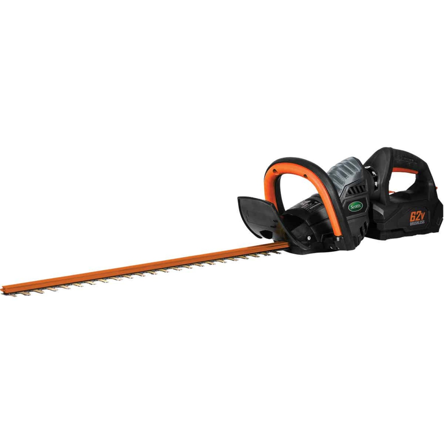 Scotts 24 In. 62V Lithium Ion Cordless Hedge Trimmer Image 1