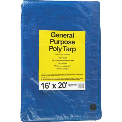 Do it Blue Woven 16 Ft. x 20 Ft. General Purpose Tarp