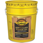 Cabot Australian Timber Oil Translucent Exterior Oil Finish, Natural, 5 Gal. Image 1