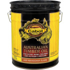 Cabot Australian Timber Oil Translucent Exterior Oil Finish, Mahogany Flame, 5 Gal. Image 1