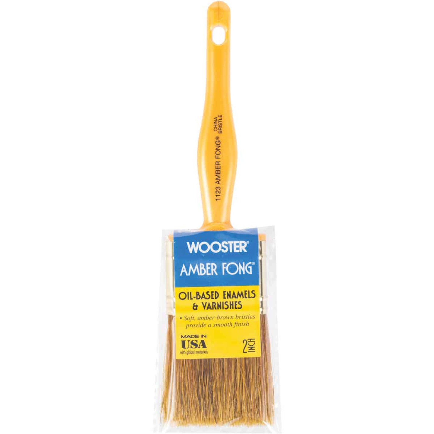 Wooster Amber Fong 2 In. Flat Paint Brush Image 1