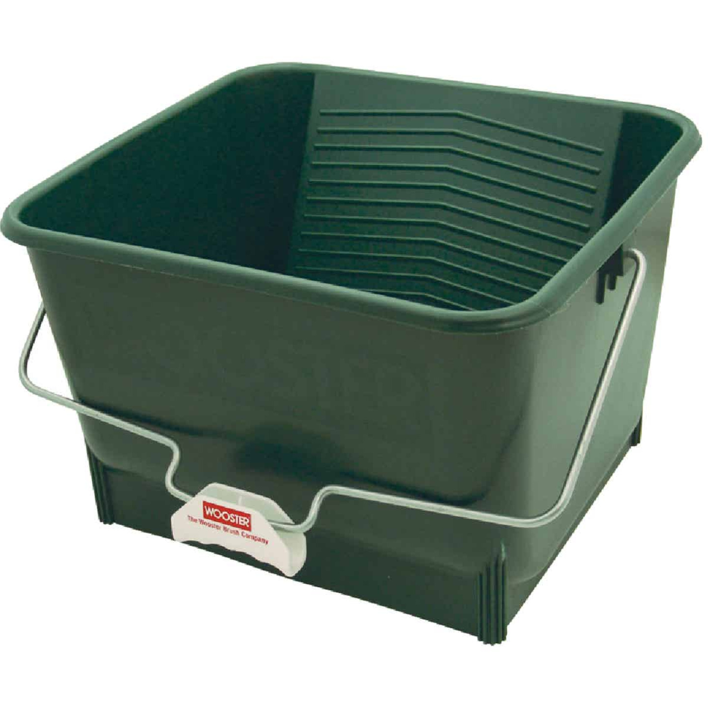 Wooster 4 Gal. Green Painter's Bucket Image 1