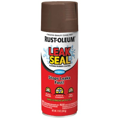Rust-Oleum LeakSeal 12 Oz. Flexible Rubber Coating, Brown
