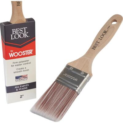 Best Look By Wooster 2 In. Flat Paint Brush