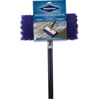 Wolman Wood Worx Deck Brush with 5 Ft. Handle Image 1