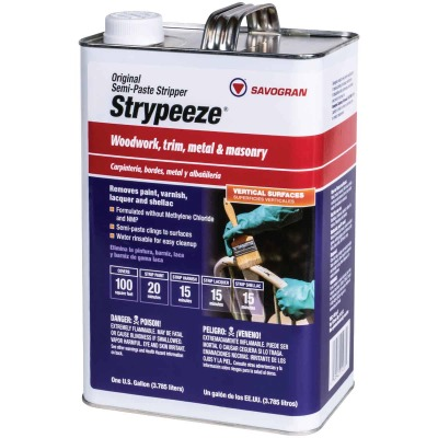 Savogran Strypeeze Gallon Methylene Chloride Free Stripper