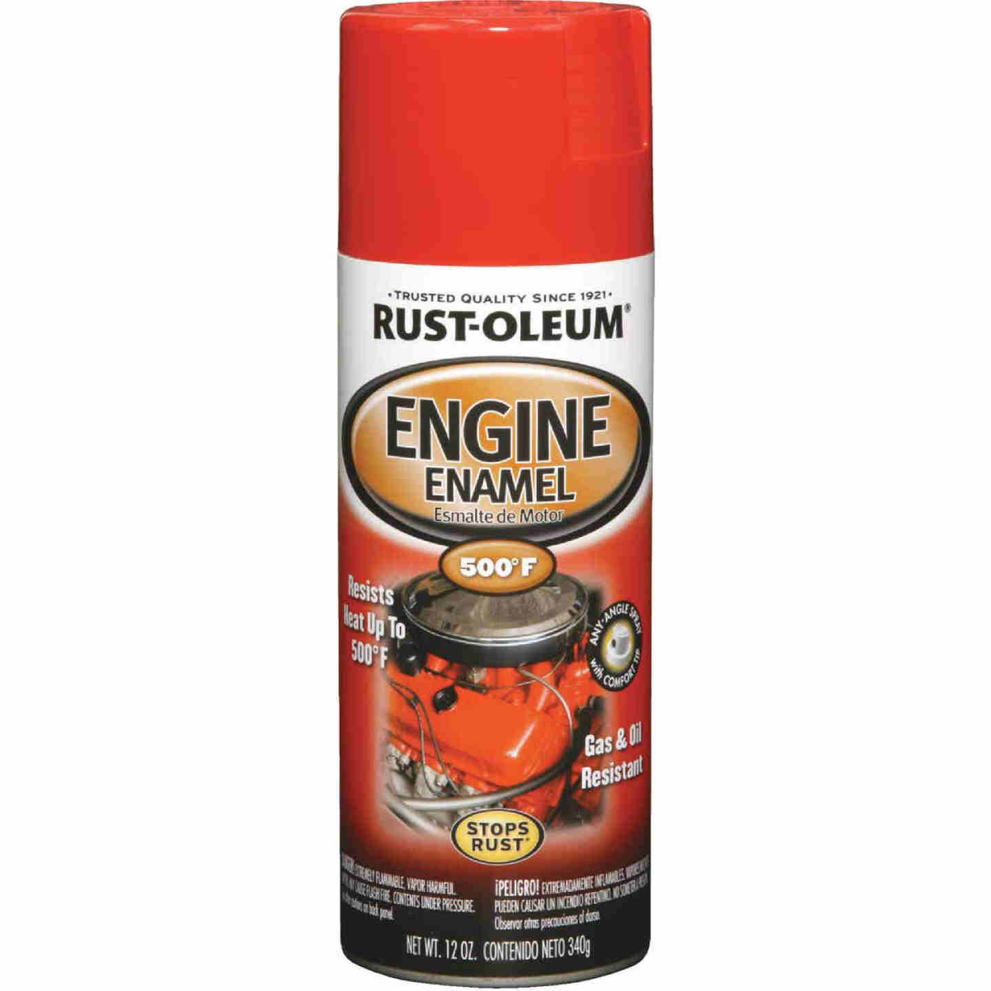Rust-Oleum Stops Rust 12 Oz. Gloss Ford Red Engine Enamel Spray Paint Image 1
