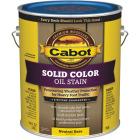 Cabot VOC Solid Color Oil Deck Stain, Neutral Base, 1 Gal. Image 1