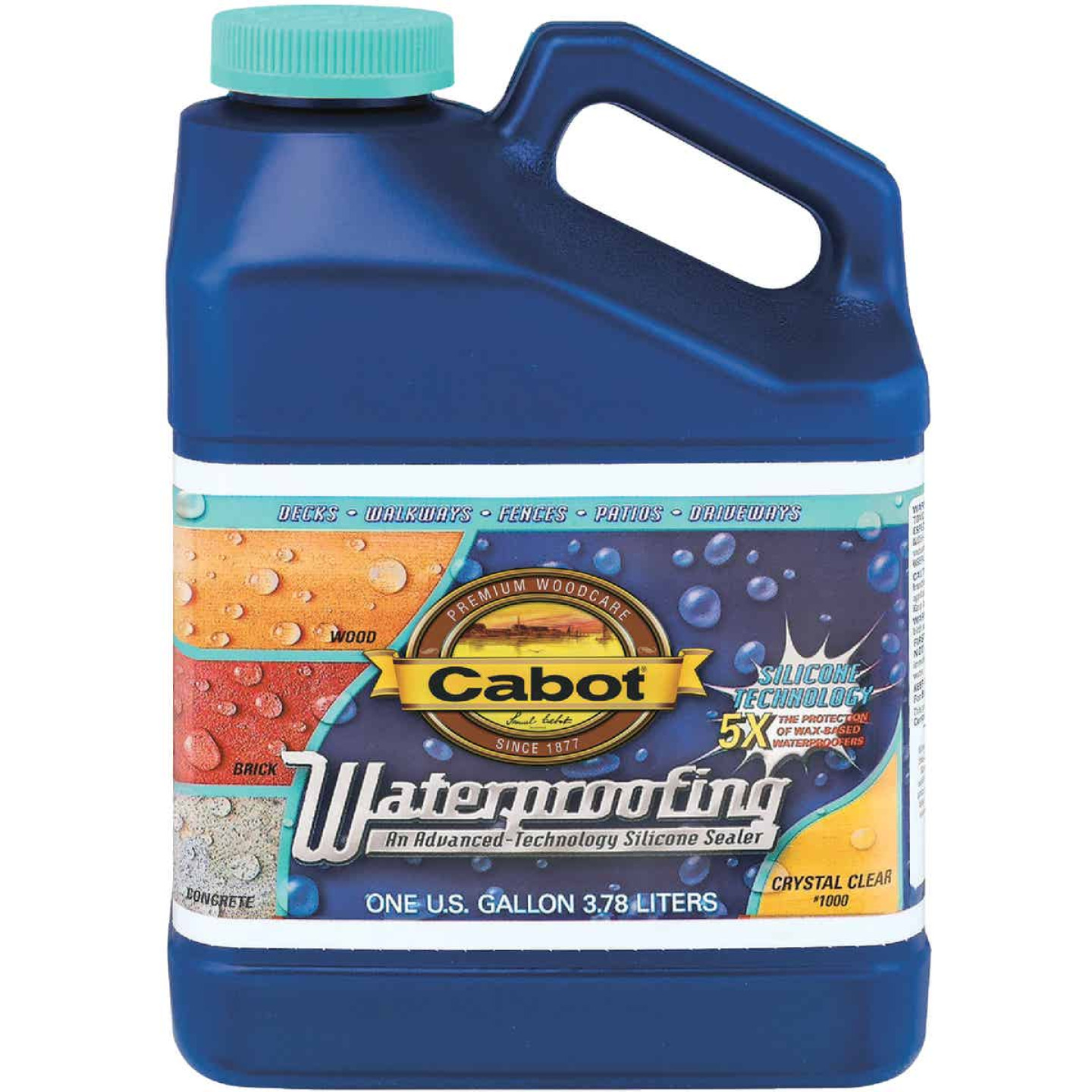 Cabot Clear Silicone Waterproofing Sealer, 1 Gal. Image 1