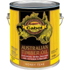 Cabot Australian Timber Oil Translucent Exterior Oil Finish, Honey Teak, 1 Gal. Image 1