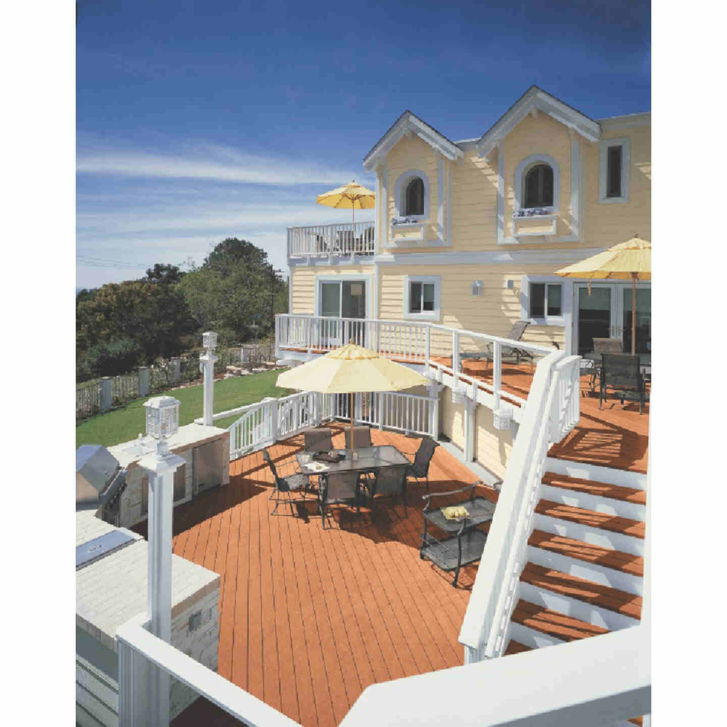 Cabot Solid Color Acrylic Siding Exterior Stain, Neutral Base, 1 Gal. Image 2