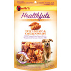 Ruffin' it Healthfuls Sweet Potato & Chicken Flavor Chewy Dog Treat, 3.5 Oz. Image 1
