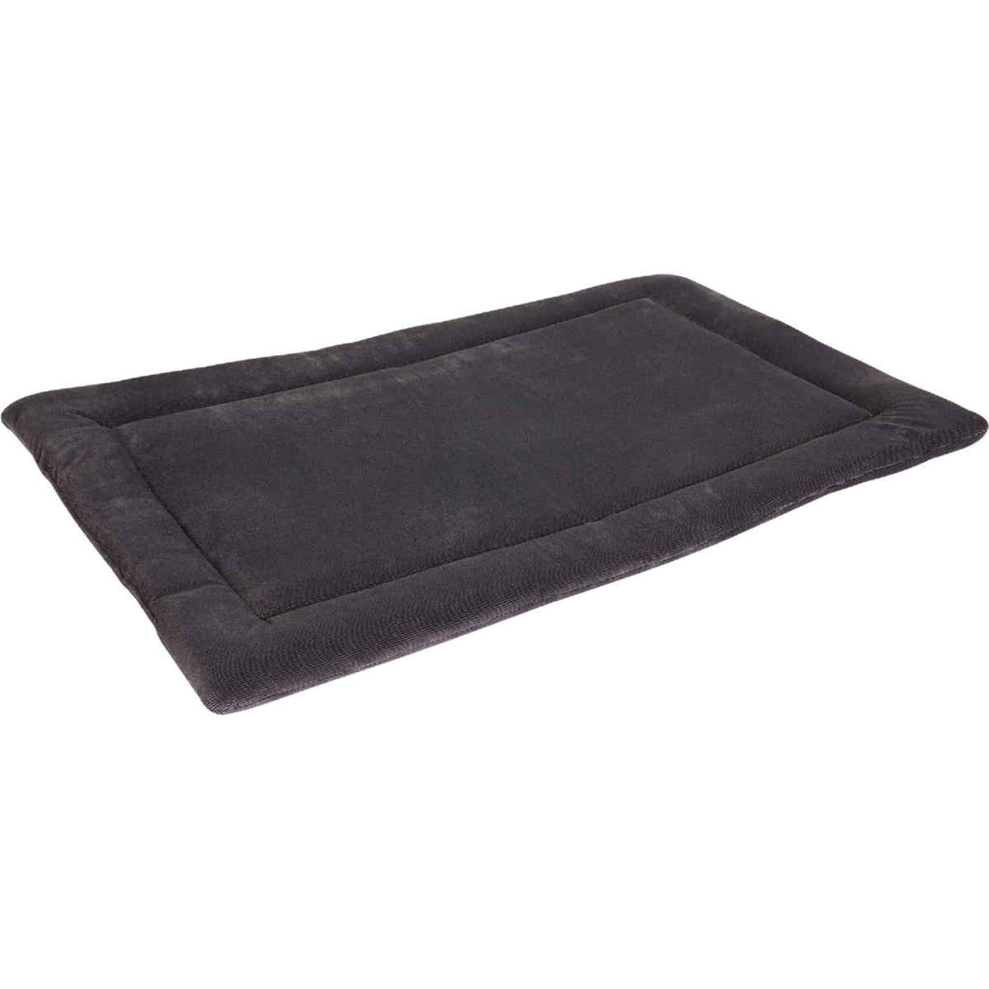 Petmate Aspen Pet 41.5 In. W. x 26.5 In. L. Woven Plush/Polyester Batting Kennel Mat Dog Bed Image 1