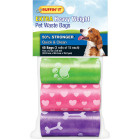 Ruffin' it 9.5 In. W. x 13.5 In. H. Multi-Color Pet Waste Bag (45-Pack) Image 1