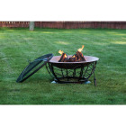 Outdoor Expressions 30 In. Coppertone Round Steel Fire Pit Image 4