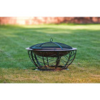 Outdoor Expressions 30 In. Coppertone Round Steel Fire Pit Image 5