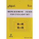 J Hofert 5A GlassType C Christmas Light Set Fuses (2-Pack) Image 1