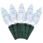 J Hofert Pure White 210-Bulb C6 LED Light Set Image 1