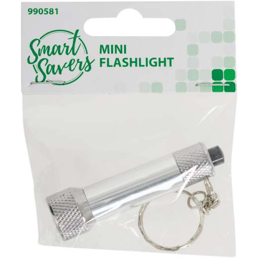 Smart Savers 20 Lm. Mini LED LR44 Flashlight