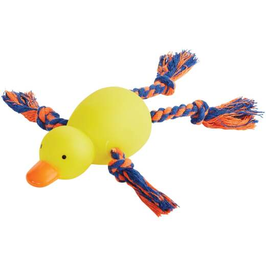Smart Savers 9 In. Squeaky Duck Dog Toy